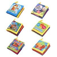 1 * Bán Cho Trẻ Sơ Sinh 0-3 Năm Sách Vải Cho Bé Đồ Chơi Giáo Dục Vải