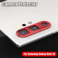1 * Điện Thoại Di Động Mới Bảo Vệ Kim Loại Cho Samsung Galaxy Note 10 10 + Plus Bảo Vệ Ống Kính Camera Bao Da Bảo Vệ