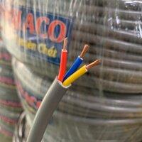 (10m) Dây điện DAPHACO 3x2.5 xám tròn.
