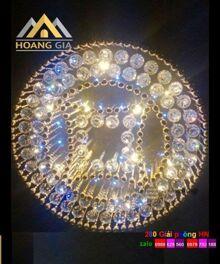 Đèn mâm pha lê HGM9067 - Φ650