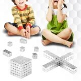 216Pcs Metal Magnet Cube Square Magic Magnetic Balls Puzzle Toy For Kids/Adults (5mm) - intl