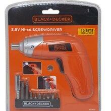 Máy vặn vít dùng pin Black & Decker KC3610