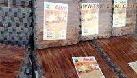40*40*10 tấm - Thảm xốp trải sàn vân gỗ Âu Lạc