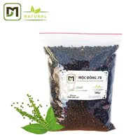 500gr Tiêu hạt sấy khô Mộc Đông loại I xuất khẩu - Túi zip đặc sản Việt Nam
