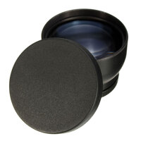 52mm 2X Telephoto Lens for Nikon D3100 D5200 D5100 D7100 D90 D60 DSLR Camera with Filter Thread