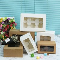 5PCS Hot Present Case Party Supplies Kids Gift Plastic PVC Paper Gift Box Candy Wrapping Bag Cake Package