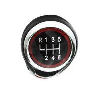 6 Speed Gear Shift Knob For VW Golf MK5 MK6 MK7 Jetta EOS Scirroco