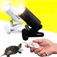 75 Wát UVA + UVB 3.0 Động Vật Bò Sát Bộ đèn Trắng Kẹp Bóng Đèn Đui đèn Rùa Basking UV đèn sưởi cho thú cưng