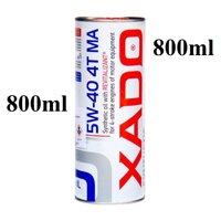800ml Nhớt XADO Atomic 5W-40 [ phục hồi nguyên tử động cơ xado đỏ trắng xe máy 4 thì côn tay phổ thông phân khối lớn pkl nhập khẩu Hà lan ]