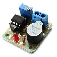 9V 12V Battery Sound and Light Alarm Protection Module Against Over-discharge Board
