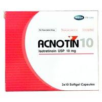 ACNOTIN 10 H/30v softgel capsules