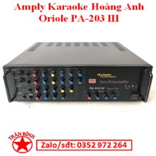 Amply karaoke Arirang PA-203III AMLYARI0003