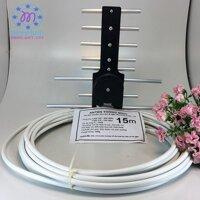ăng ten tivi thông minh thu sóng DVB T2 kèm dây 15m - TBGD.angten-15m