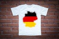 Áo thun in hình  lá cờ Germany