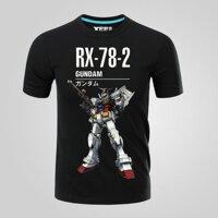 Áo Thun Nam Tay Ngắn In Hình Gundam Rx-78-2 Devil