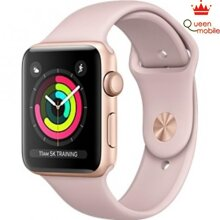 Apple Watch Series 3 42mm Gold Aluminum Case with Pink Sand Sport Band - MQL22