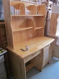 Bàn học có giá sách gỗ tự nhiên dành cho học sinh sinh viên ...