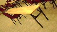 Bàn học gỗ tự nhiên 05