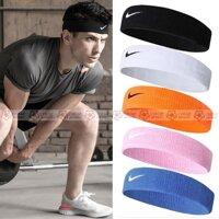 Băng Đô Headband Nike Thể Thao Dùng Cho Tập Gym, Bóng Chuyền, Bóng Rổ, Cầu lông Băng Đầu Thấm Chặn Mồ Hôi