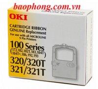 Bang Muc In Ribbon Oki ML-184/320