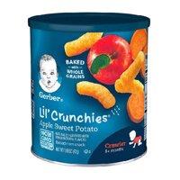 Bánh Ăn Dặm Gerber Lil' Crunchies Vị Táo Khoai Lang