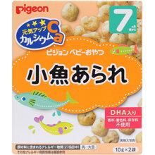 Bánh ăn dặm Pigeon DHA 7M+ vị cá cơm