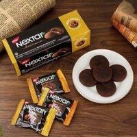 Bánh quy mềm nhân socola Nextar Brownies Nabati 112g