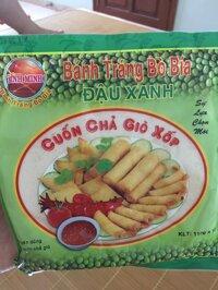 Bánh tráng bò bía đậu xanh (10 tệp)