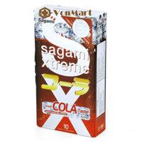Bao cao su Sagami Xtreme Cola 10 cái, siêu mỏng tự nhiên, cao cấp, mùi hương thơm Coca cola hấp dẫn