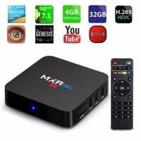 Android TV Box chuyen game MXR Pro 4K Ram 4Gb 32Gb