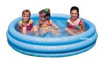 bể bơi 3 tầng 1m68 xanh thủy tinh intex 58431