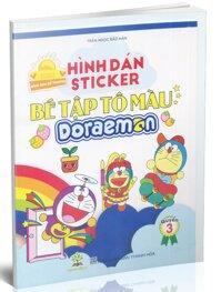 Bé tập tô màu Doraemon _ Sticker_ quyển 3