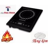bep dien tu hong ngoai - Bếp hồng ngoại cơ 2000W Chế độ nấu thông minh hiện đại Bảo hành bởi Shop Tien Thinh – TẶNG VỈ NƯỚNG