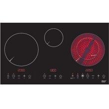 Bếp điện từ Lorca TA3007EC (TA-3007EC) - 2 bếp từ + 1 bếp hồng ngoại