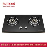 Bếp ga âm Fujipan chén đồng FJ-8990V (Đánh lửa IC Kiêng gang đúc)