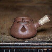 Bếp Từ Áp Dụng Phong Cách Nhật Bản Ấm Trà Quai Ngang Khẩn Cấp Nồi Bùn Đỏ Nồi Nấu Ấm Trà Đá Bùn Củi Kung Fu Dụng Cụ Pha Trà Trà Công Phu
