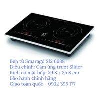 Bếp từ đôi đặt dương SMARAGD SI2-6688+