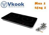 BẾP TỪ ĐÔI ĐẶT DƯƠNG VKOOK BVK-3506 Eco.PP - Phiên bản Ultra-Slim