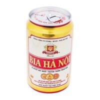 Bia lon Hà Nội 330ml