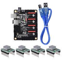 BIGTREETECH SKR Mini V1.1 32Bit Control Board Mainboard with 4Pcs A4988 Drivers for 3D Printer Parts