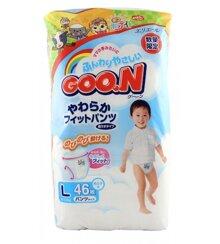 Tã giấy Goo.n L46 (dành cho bé trai từ 9-14kg)