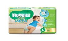 Tã quần Huggies Ultra Pants bé trai size L 28x4
