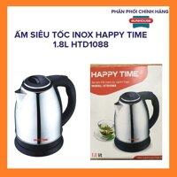 Bình đun siêu tốc Inox 1.8 lít Happy Time 1500W - ấm đun nước siêu tốc Sunhouse
