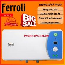 Bình nóng lạnh Ferroli Verdi 30AE