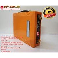 Bình Pin Lithium 12v 30Ah và 60Ah, Pin sạc Lipo mạch bảo vệ BMS 4S 30Ah và 60Ah