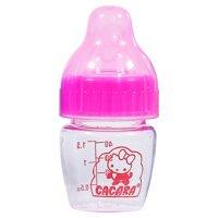 Bình sữa siêu nhỏ Cacara 40ml cho trẻ sơ sinh cổ thường 2 chức năng
