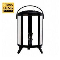 Bình ủ trà 8L inox 304 không đồng hồ giá rẻ tại TPHCM