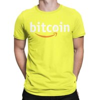 Bitcoin Cổ Điển X Amazon Thay Thế-Áo Thun Nam Cryptoboy Áo Phông Tiền Điện Tử Bitcoin Tiền Điện Tử Bitcoin Blockchain Geek Tees