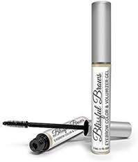 BlissfulBrowsby Hairgenics – One Step Long Lasting Tinted and Colored Eyebrow Gel Infused with Fibers for Thick and FullBrows(Blonde)