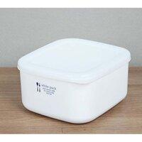 Bộ 2 hộp đựng thực phẩm sạch, đồ khô bằng nhựa PP cao cấp 700mL - Hàng nội địa Nhật